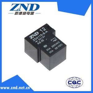 Power Relay for Household Appliances &Industrial Use Zd4115 (T90) 30A Miniature Relay