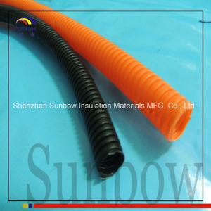 Sunbow Split Wall Corrugated Loom Tubing Orange pictures & photos