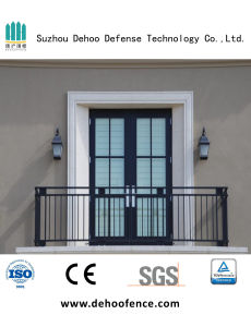 Anti-Corrosion Iron Black Balcony Fence for Residence Community &Villa &Hotel pictures & photos