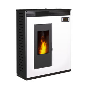 Freestanding White Wood Pellet Stove pictures & photos