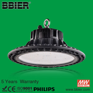 Microwave Sensor UFO LED High Bay Lights with Bracketb with 5 Years Warranty pictures & photos