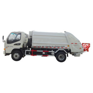 Low Price Compression Garbage Truck pictures & photos