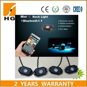 RGB Mini Rock Lights LED Rock Light pictures & photos