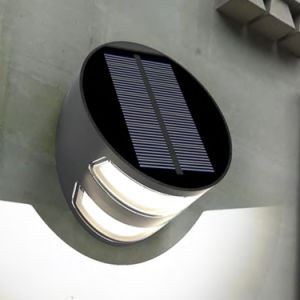 Factory Direct Outdoor Solar Powered LED Garden Wall Light pictures & photos