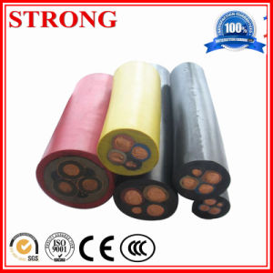 Elevator Lift Dedicated Flat Cable Round Cable Tensile Good Wear-Effect pictures & photos