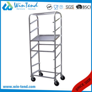 Hot Sale 7 Tiers Bakery Bread Trolley with Wheels pictures & photos