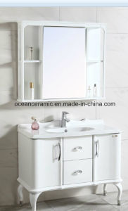 9068W Bathroom Furniture, Sanitary Ware, Cheap Wall Hung Corner PVC Bathroom Cabinet pictures & photos