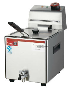 6L Commerical Electric Single Tank Flat Chicken Deep Fryer pictures & photos