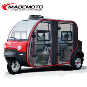 High Quality 3 Wheels 4 Seaters Electric Car with 150km Range pictures & photos