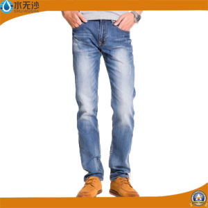 Factory OEM 2017 Spring Stretch Denim Pants Basic Men Jeans pictures & photos