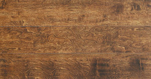 Handscraped Oak Lamianted Flooring pictures & photos