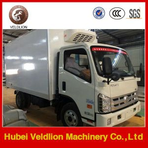 Foton 4X2 mini refrigerated van trucks for sale capacity 4 tons pictures & photos