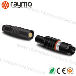 Lemoes Cable Mounted Socekt Phg. 1b. 310. Clld 9way Push Pull Connector with Rubber Boot for Medial Device pictures & photos