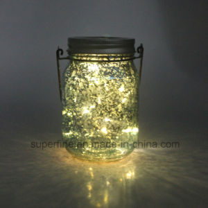 Halloween Glass Solar Jar Lights Hanging for Decoration pictures & photos