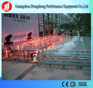 Outdoor Performance Transparent LED Event Glass Stage pictures & photos