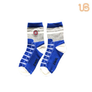 Branded Custom Designed Cotton Socks for Boy pictures & photos