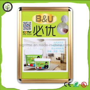 25mm A3 Round Corner Cheap Snap Aluminium Frame pictures & photos