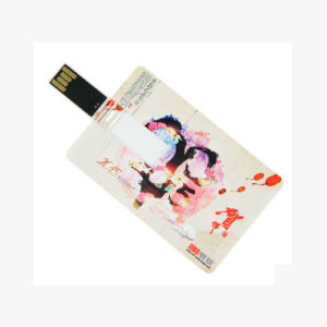 Card USB Flash Drive Custom Logo Business Gifts Plastic USB128GB 256GB pictures & photos