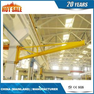Cantilever Floor Mounted Slewing Jib Crane pictures & photos