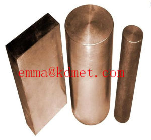 High Quality Tungsten Cooper Alloy /Tungsten Cooper Sheet, Bar, Rod pictures & photos