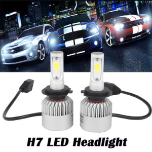 8000lm S2 COB Seoul Csp Car LED Headlight for Car H1 H3 H4 H7 9012 H11 9005 Fog Light From Factory Car LED Headlight pictures & photos