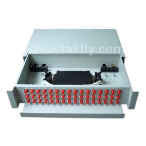 FTTH Rack Mount Slidable 48 Cores Fiber Optic Patch Panel pictures & photos