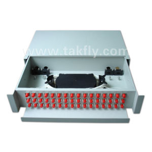 Rack-Mount Slidable 48 Cores ODF/Fiber Optic Patch Panel pictures & photos
