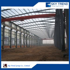 Pre Assembled Prefabricated Low Cost Factory Workshop Steel Building pictures & photos