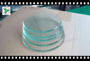 Square &Round Tempered Glass for Building pictures & photos