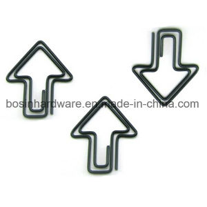 Arrows Shaped Black Paper Clips pictures & photos
