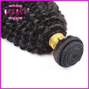 Raw Unprocessed Kinky Curl Remy Human Virgin Remy Indiantemple Hair pictures & photos