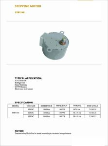 NEMA Permanent Magnet CNC Kit Stepper Motor for Air Conditioner pictures & photos