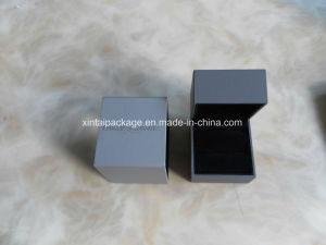 Grey High-Trade Wholesale Lettherette Jewelry Box pictures & photos