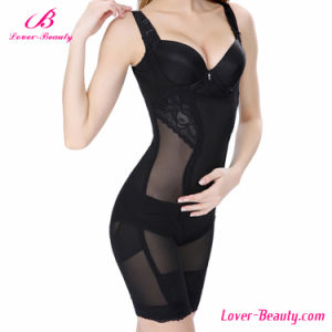 Charming Translucent Black Sexy Shapewear for Women pictures & photos