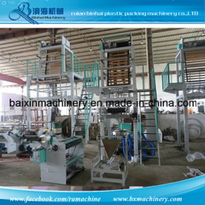 on Roll Garbage Bag Film Blowing Machine pictures & photos