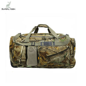 China Suppliers High Quality Large Capacity Camo Trolley Custom Tote Sling Hunting Duffel Bag pictures & photos