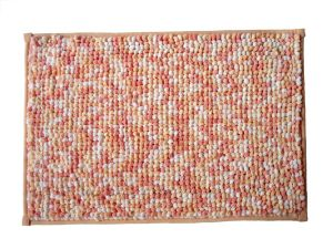 Custom Chenille Anti-Slip Anti-Bacterial Bath Mat