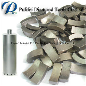 Diamond Core Drill Bit Segment for Reinforce Concrete Core Drilling Hole pictures & photos