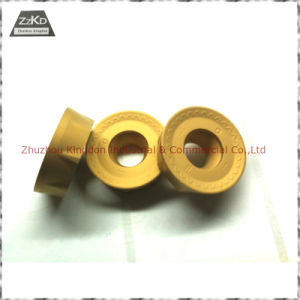 Tungsten Carbide Inserts/Carbide Indexable Turning Milling Inserts with CVD PVD Coating pictures & photos