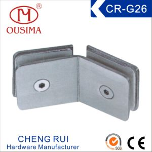 Square Glass to Glass Bathroom Fixing Clamp (CR-G26) pictures & photos