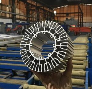 Complex Section Aluminium Extrusion Sunflower Heatsink/ Radiator for Solar System pictures & photos