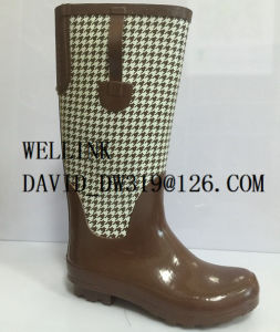 New Style Ladies Rb Rainboot with Adjustable Strap pictures & photos