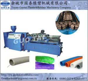 Communication Cable Sheathing Protective Covering Corrugated Tube Machine pictures & photos