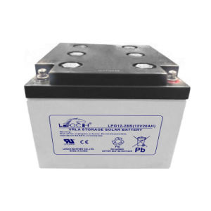 12V 28s Long Life AGM Gel Battery for Solar/ Wind/ Renewable Energy pictures & photos