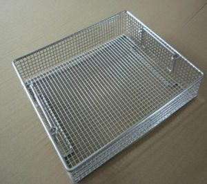 Medical 304 316 Stainless Steel Disinfecting Basket pictures & photos