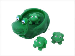 Vinyl Four Frog Bath Set pictures & photos