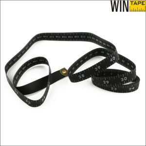 New Material Soft 150cm 60inch Tailor Metric Black Measuring Tape pictures & photos