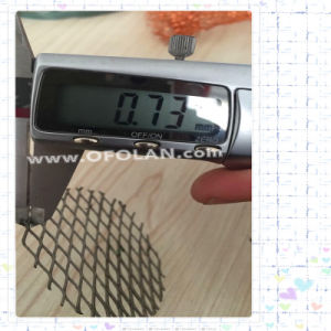 Titanium Expanded Electrode Mesh for Waste Water Treatment (5X12mm) pictures & photos