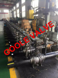 Heat Supply Full Bore Discharging Type Buried Fully Welded Ball Valve (GAQ61PPL) pictures & photos