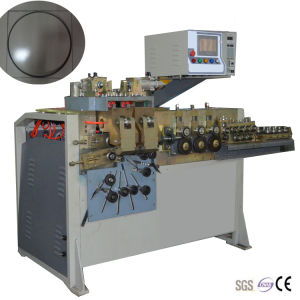 Hydraulic Circle Forming Machine with Welding Function pictures & photos